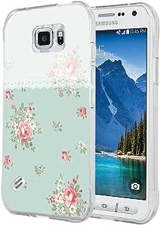 S6 Active 引语可爱手机壳,CCLOT 三星 Galaxy S6 Active 保护套适合女孩粉色多彩设计 TPU 硅胶保护壳S6A-OCTA (148) 颜色 12
