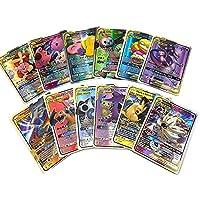 カード 英語版ポケモンカード GX.タッグチーム EXメガシニーカードゲームバトルカルテトレーディング子供おもちゃ おもちゃ (Color : 100PCS GX CARD)