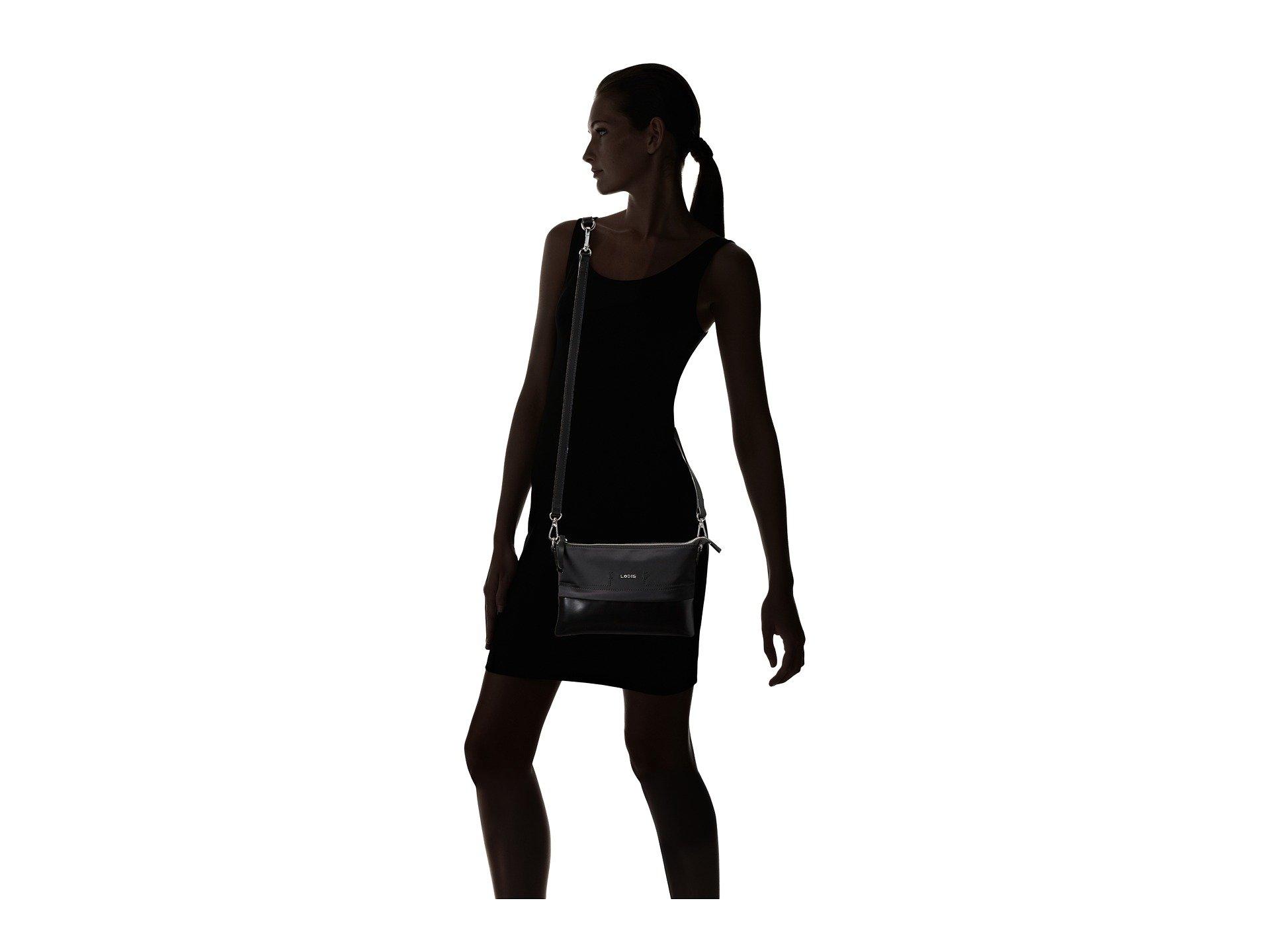 Nylon Accessories Convertible Black Lodis Crossbody Sports Kala 6FnBw