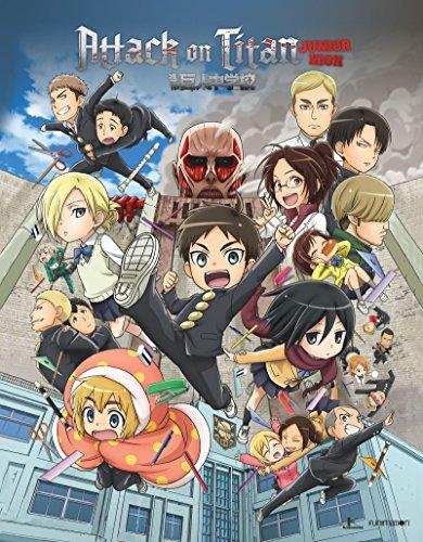 Attack On Titan: Junior High - The Complete Series (4 Blu-Ray) [Edizione: Stati Uniti] [Italia] [Blu-ray]