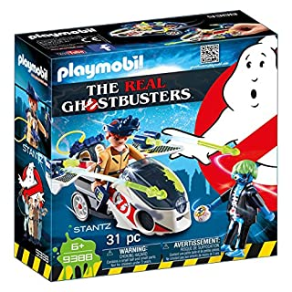 PLAYMOBIL Ghostbusters Stantz con Moto Voladora, a Partir de 6 Años (9388) (B0767FCWXY) | Amazon price tracker / tracking, Amazon price history charts, Amazon price watches, Amazon price drop alerts