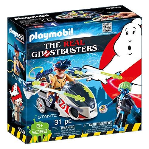 PLAYMOBIL Ghostbusters Stantz con Moto Voladora, a Partir de 6 Años (9388)