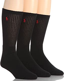 Polo Ralph Lauren Mens Solid Sport Casual Socks