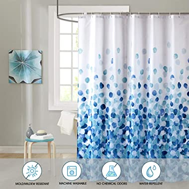 ARICHOMY Shower Curtain, Farmhouse Shower Curtain Set Bathroom Fabric Fall Curtains Waterproof Colorful Funny with Standard S