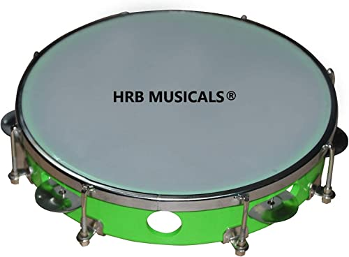 HRB MUSICALS Tambourine Hand Percussion Musical Instrument DAFLI