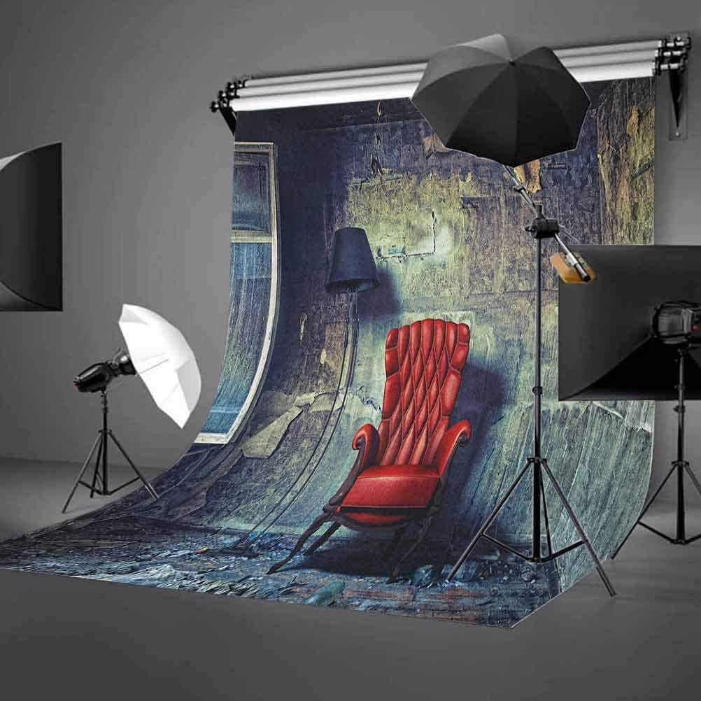 8x12 FT Marine Vinyl Photography Backdrop,Spiritual Ornamental Style Wild Underwater Animals Octopus Seahorse Squid Jellyfish Background for Party Home Decor Outdoorsy Theme Shoot Props