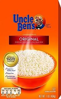 UNCLE BEN`S Original Long Grain White Rice 1lb, (12pk)