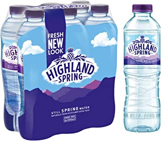 Highland Spring Water Still PET - 500 ml (Pack of 6)