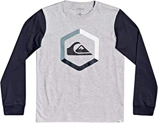 Quiksilver The Boldness-Camiseta de Manga Larga para Niños 8-16