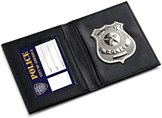 Dress Up America 939 Kids Pretend ID Wallet Police Costume Accessory Play for Detective Cop and Swat Role, Generic, One Size