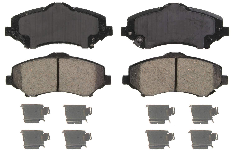 Amazon Com Wagner Quickstop Zd1327 Ceramic Disc Brake Pad Set Automotive