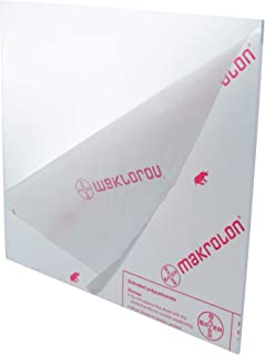 Clear Polycarbonate Lexan Sheet - 1/4