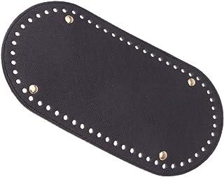 SUPVOX tejido de punto de ganchillo bolsa de cuero cojín