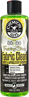 Chemical Guys CWS_103 Foaming Citrus Fabric Clean Carpet & Upholstery Shampoo (16oz), 16. Fluid_Ounces