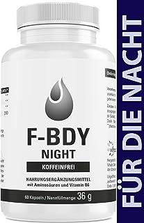Vihado F-BDY Night – Kapseln für einen normalen Stoffwechsel – koffeinfrei für die..