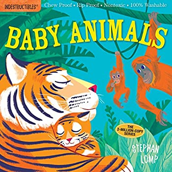 Indestructibles  Baby Animals  Chew Proof · Rip Proof · Nontoxic · 100% Washable  Book for Babies Newborn Books Safe to Chew