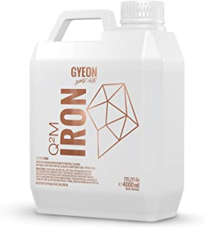 GYEON Quartz Q²M Iron 4L - Iron Remover Breaks Down Embedded Iron Deposits in Paint and Wheels