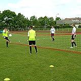 Fußballtennis-Anlage XL, für bis zu 10 Spieler, für Teamsportbedarf - Fußballtraining