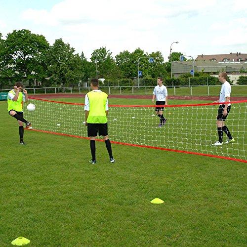 Fußballtennis-Anlage XL, für bis zu 10 Spieler, für Fußballtraining