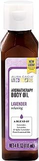 Aura Cacia Body Oil, Relaxing Lavender, 4 Fluid Ounce