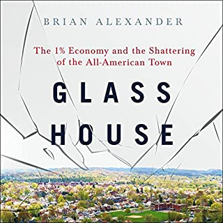 Glass House audiobook cover art