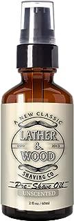 Best Pre-Shave Oil, Unscented, Premium Shaving Oil for Effortless Smooth Irritation-free Shave. 2 Oz …