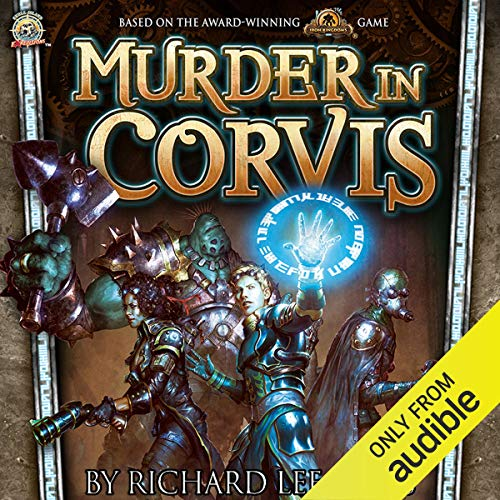 Murder in Corvis audiobook cover art