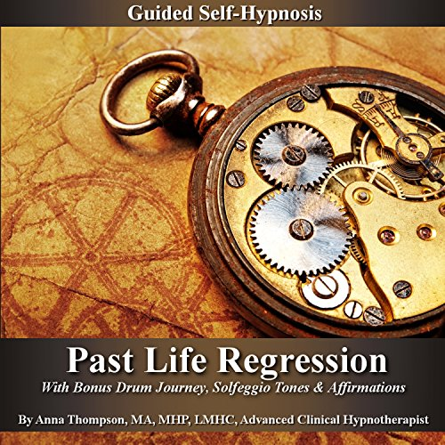 Past Life Regression Guided Self Hypnosis audiobook cover art