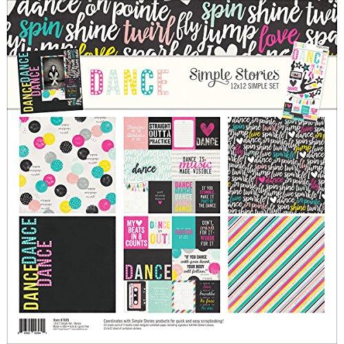 "Simple Stories 7885Danza 12""X 12"" colección Kit"