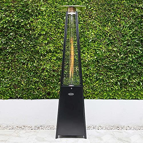 BELLEZE 45,000 BTU Gas Outdoor Pyramid Patio Heater with...