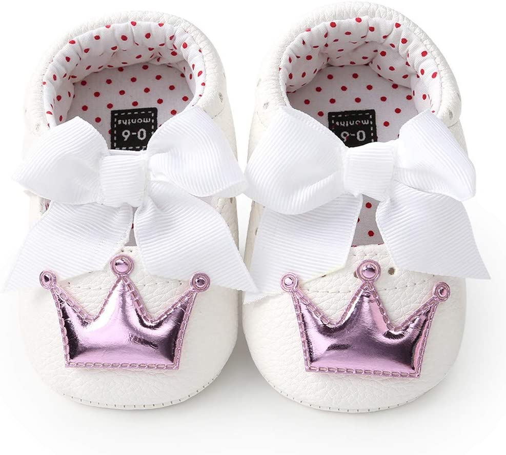 Amlaiworld B/éb/é Fille Chaussures avec Bandeau Cadeau Ensemble Bambin Fille Belle Printemps Fleur Semelle Souple Anti-d/érapant Baskets Princesse Chaussures