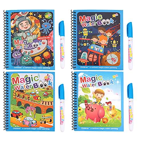 Libros para colorear al agua 4