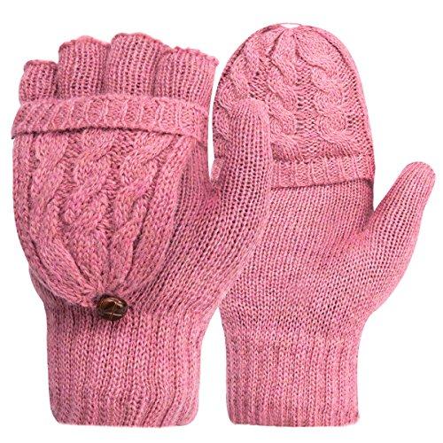 Women's Gloves Thermal Heat Mittens - Digitek Winter Warm Gloves Heat...