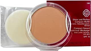 Shiseido SPF 15 Sheer and Perfect Compact Foundation, R140, 10g