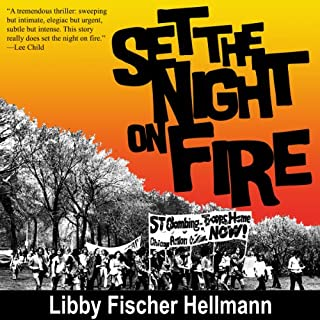 Set the Night on Fire audiobook cover art