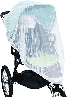 Jolik Mosquito Net for Stroller Carriers Car Seats Cradles, Universal Size, High-Density Stroller Mosquito Net