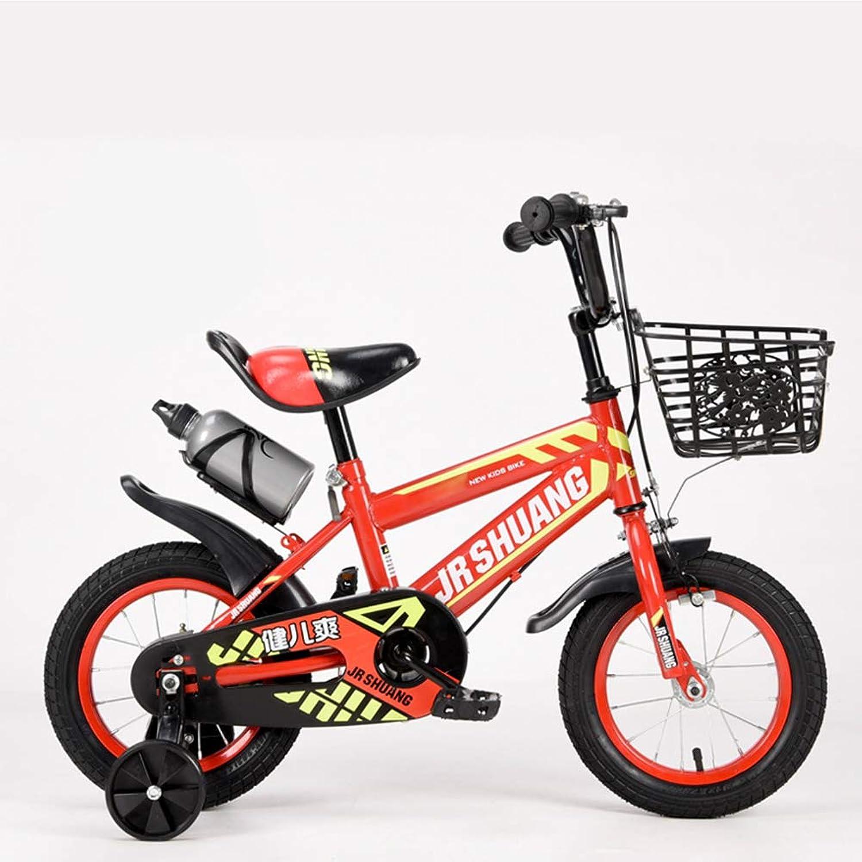 Vélo Garçon, Vélo portable pour Enfants, Vélo Extérieur, Bouilloire (Convient Aux Enfants De 3 à 10 Ans), 12, 14, 16, 18 Pouces.