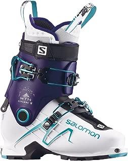 MTN Explore Ski Boot - Women's Dark Purple/White/Aqua Blue, 26.5