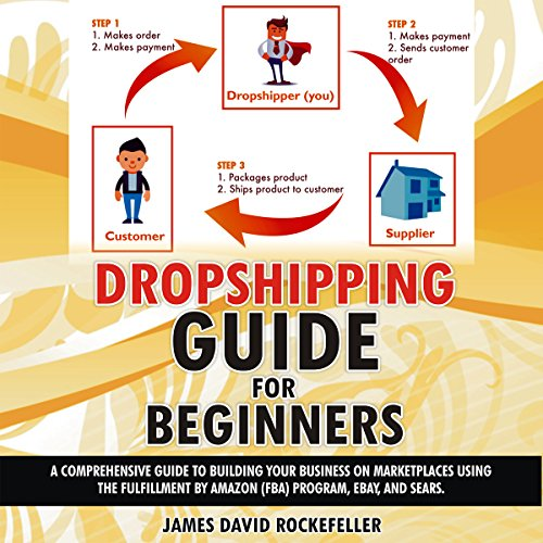 Dropshipping Guide for Beginners audiobook cover art