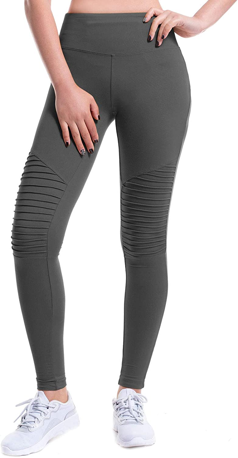 Design by Olivia Women's Biker Attention brand Skinny Stret Zipper Ankle Pleated Limited price
