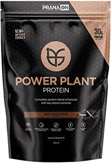 Prana ON Power Plant Protein, Rich Chocolate, 400 grams