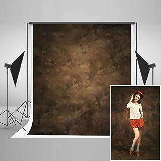 KateHome PHOTOSTUDIOS 15×22m Fondos de fotografía marrón Fondo Retro fotógrafo Retrato telones de Fondo colapsibles fotografia Estudio