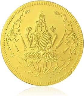 Bhima Jewellers 22k (916) Goddess Lakshmi 1 gm Yellow Gold Coin