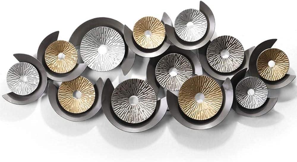 LLC- SUDA Gifts Modern Max 45% OFF Metal Wall Decor Large Art Three-D