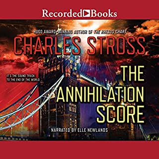 The Annihilation Score audiobook cover art