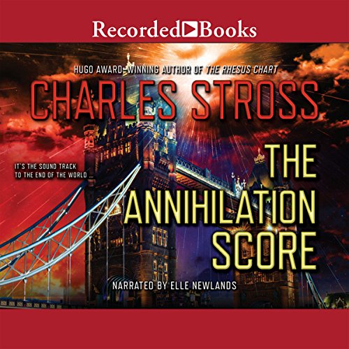 The Annihilation Score audiobook cover art