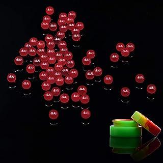 15 PCS Quartz Pearl Balls 6mm /8mm OD Quartz Beads Balls Insert Clear Quartz Pearls (Ruby Pearls Balls-6mm)