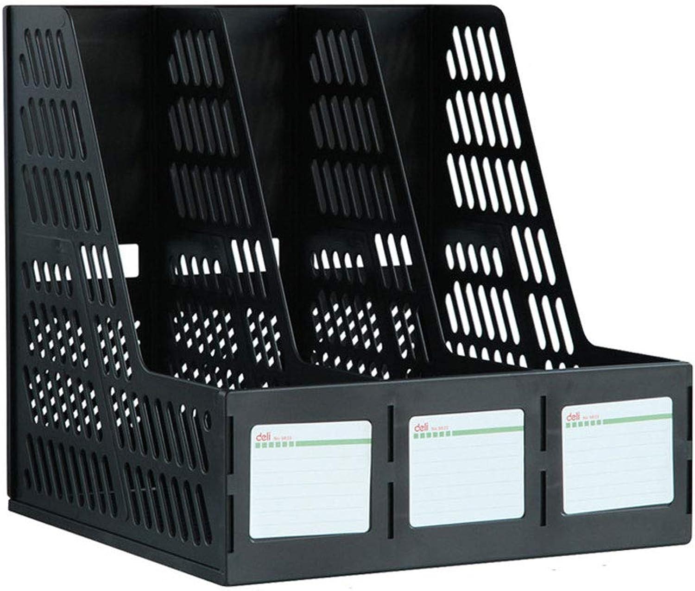 Datei Rack Dokumente Organizer Halter Magazin Sortierer Desktop Box Buchregal Kunststoff Storage 5 Slot freistehende DIY B07G847C7D | Tragen-wider