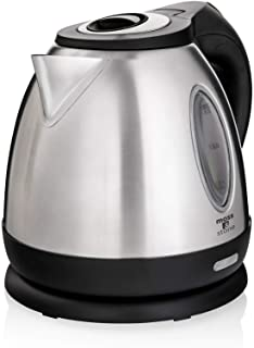 Moss & Stone Stainless Steel Electric Kettle, Cordless Pot 1.2L Portable Electric Hot Water Kettle, 1500W Strong Fast Boil...