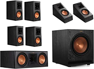 Klipsch RP-600M 7.1 Home Theater System - Ebony